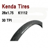 ยางนอก KENDA K1112 26x1.75 (ขอบลวด)