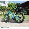 จักรยานมินิ Fatbike Trinx M510D 7สปีด เฟรมอลู 2016