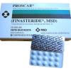 Proscar 5 mg. 30 เม็ด ยาปลูกผม