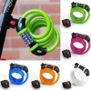 สายล็อคจักรยาน Universal 5-Digit Password Bike lock Anti Theft,TOYON ,TY566