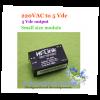 220 VAC to 5 Vdc module