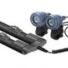 CAT EYE ไฟหน้าแคทอายรุ่นชาร์ตแบต ABS-30, 20W/10W. (แบต NI-MH)