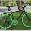 จักรยาน TRINX P400 เกียร์ Shimano 8 สปีด เฟรมอลูมิเนียม (สไตล์ฟิกเกียร์)