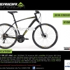 จักรยานไฮบริด MERIDA CROSSWAY 100 ,27สปีด ดิสน้ำมัน 2016