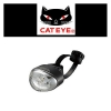 CATEYE ไฟหน้ากระพริบแคทอาย RAPID 1, TL-LD611, สีขาว (USB charge)