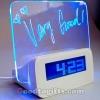 นาฬิกาโน๊ตส่องแสง Memo Board Alarm Clock