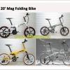 ล้อแม็กจักรยาน YM magnesim wheel ขนาด 20 นิ้ว สำหรับรถมีเกียร์ (MAG Wheel)
