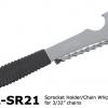 เครื่องมือถอดเฟืองท้าย ประแจโซ่ Shimano TL-SR21 สำหรับชุดเกียร์ 6-10 สปีด