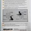 ผ้าเบรค Baradine Brake shoes MTB-945VC