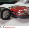 ชุดไฟหน้า+ไฟหลัง จักรยาน 5 LED ,WJ-101