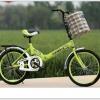 จักรยานพับได้ GEMEIS FOLDING BIKE พร้อมตะกร้าหน้า ล้อ 20 นิ้ว