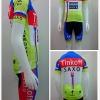 ชุดปั่นจักรยานแขนสั้น ProTeam ผ้า lycra + Coolmax 2015 ,PT03