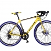 จักรยานเสือหมอบไซโคลครอส COYOTE CIVATA 700C ,14 สปีด เฟรมอลูซ่อนสาย