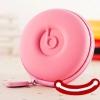 กระเป๋าเก็บสายหูฟัง ที่เก็บสายหูฟัง เก็บสาย USB เก็บของอเนกประสงค์ เป็นรูปวงกลมหอยทาก รูดปิดซิบ สีหวานๆ