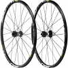 ล้อเสือภูเขา Mavic Crossride Disc 15/12 mm Thru Axle 650b Wheelset 27.5 inch - black