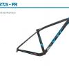 Giant XtC SLR Frameset 27.5 FR ,2016