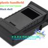 Black plastic handheld