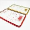 """เคส ขอบโครเมียม tpu ลายการ์ตูน Samsung Galaxy Tab 3 Lite 7"""" T110 T111"""