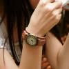 Vintage Genuine Leather..Lady Watch