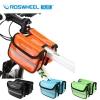 !!!SALE!!!กระเป๋าคาดเฟรมคู่ กันน้ำ Roswheel 12659มีสีดำ สีเขียว,สีฟ้า สีส้ม