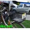 ตะกร้าจักรยาน แบบวางหลังปลดเร็ว พร้อมมือจับ (Japan),MS-2724K
