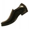 รองเท้าหนังบาจา สีดำ 499 แบบสวม