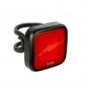 KNOG ไฟท้ายไบเดอร์ม๊อบมิสเตอร์ชิพ BLINDER MOB MR CHIPS, หลอดเหลี่ยม, ขอบดำ/เลนซ์แดง