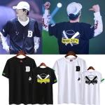 เสื้อยืด (T-Shirt) ลายไม้เบสบอล BTS - ARMY.ZIP