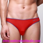 GMW Men Underwear Super Sexy Charming Comfortable Brief (Red)