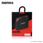 Remax แท้100% POWER BANK 10000 mAh MACRO- Proda สีแดง