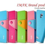 Original Brand IMAK mix leather cover for OPPO Find Way