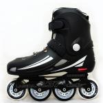 รองเท้าสเก็ต rollerblade แบบสลาลม รุ่น MNB สีดำ Fixed Size 42,43