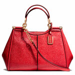 Pre-Order Coach MADISON CAROLINE SATCHEL IN TEXTURED LEATHER STYLE NO. 25245
