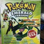 หนังสือเกมส์โปเกม่อน Emerald version version USA ( เกมส์บอย )