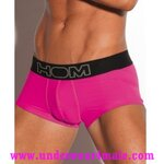 HOM Men Underwear Sport Boxer Brief Color Therapy (Pink)