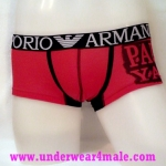 Emporio Armani Men Underwear Paul & Shark Trunk (Red)