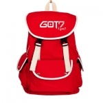 กระเป๋าสะพายหลัง GOT7 LOGO สีแดง