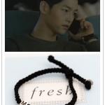 สร้อยข้อมือ แบบ Joongki ในซีรีย์ Descendants of the Sun (ver.2)