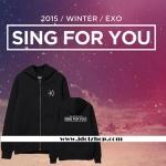 เสื้อกันหนาว เสื้อแฟชั่นแขนยาว EXO Sing For You