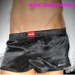 AussieBum  Men Underwear Booster Jock Boxer Shorts (Black)