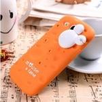 CASE Samsung Galaxy SIII (S3) เคสซิลิโคนเป็นรูปชีสรูๆ มีหัวหนู Micky mouse น่ารักๆ เคสมือถือราคาถูกขายปลีกขายส่ง