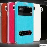 เคส Alpha Samsung Galaxy Alpha เคสหนังฝาพับดีไซน์สวย โชว์หน้าจอ หนังแบบบาง ด้านในเป็นซิลิโคนใสนิ่มๆ สีเดียวกับหนัง สวยสุดๆ