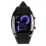 นาฬิกาซิ่ง ไมล์รถ LED รุ่น RPM WATCH ฟรี EMS