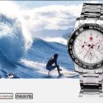 นาฬิกาข้อมือชายแฟชั่น Shank Sport watch SH018