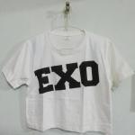 [พร้อมส่ง] เสื้อครอป EXO