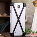 case S4 เคส Samsung Galaxy S4 i9500 เคสโลหะอลูมิเนียมดีไซน์แปลกรูปตัวเอ็กซ์ นำหนักเบาด้านในมีแผ่นกันรอย aircraft-grade aluminum x SEXY STYLE phone shell mobile phone sets metal frame back cover