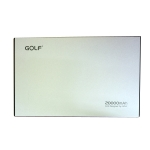 แบตเตอสำรอง golf G14 20000 mah powerbank แถมซองผ้า