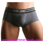 HOM Men Underwear Sport Boxer Trunk (Gray)