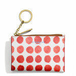 Pre-Order Coach BLEECKER MINI SKINNY IN PAINTED DOT COATED CANVAS STYLE NO. 51145