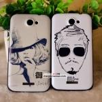 เคส Htc One X ลายภาพวาดชาย - หญิง HTC ONE X phone shell mobile phone sets onex tidal wave of men women painted shell protective cover protective shell G23